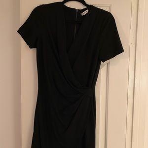 Helmet Lang timeless black dress